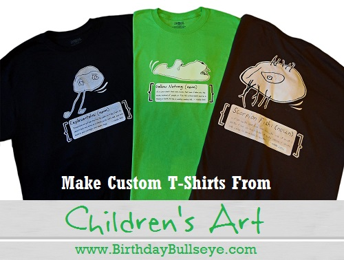 Handmade T-shirt Birthday Gift