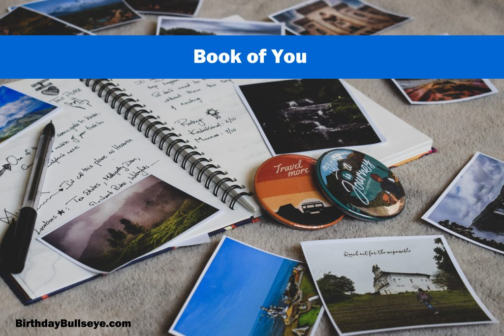 Book of You for Best Friend Birthday Gifts